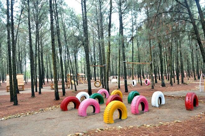 1 khu vui chơi trong Flamingo Đại Lải
