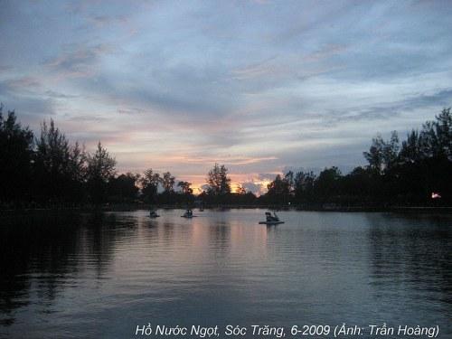 Hồ Nước Ngọt, Sóc Trăng