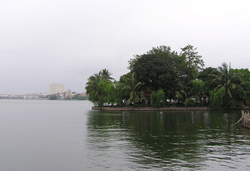 1 góc hồ Tây