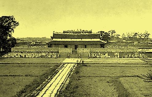 Điện Kính thiên trong Hoàng thành.