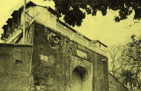 Cửa Bắc Hoàng thành xưa.