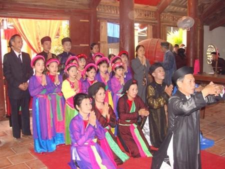Hội Lim là một lễ hội lớn đầu xuân vùng Kinh Bắc