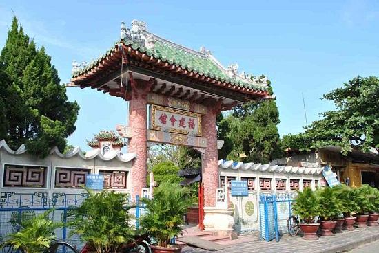 Cổng chính của Hội quán Phúc Kiến