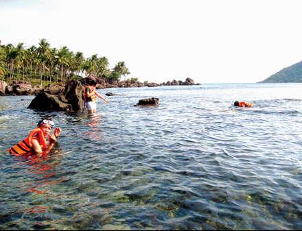 ngắm rặng san hô