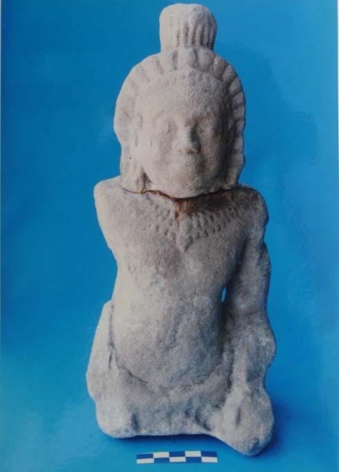 Tượng Dvarapala (hộ pháp) - di tích Gò Đồn