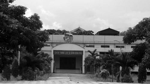 Bảo tàng Chiến thắng lịch sử Điện Biên Phủ nằm đối diện nghĩa trang liệt sĩ A1