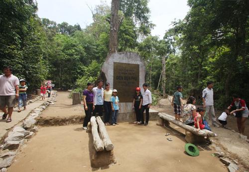 Hiện khu di tích được làm đường trải đá để du khách dễ dành tham quan hơn. Nhiều lán của các vị tướng cũng được tu sửa lại do thời tiết làm hư hại