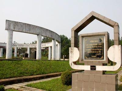 Khu di tích mộ Nguyễn Thái Học