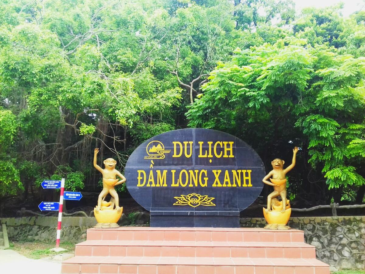 Khu du lịch Đầm Long - Bằng Tạ.