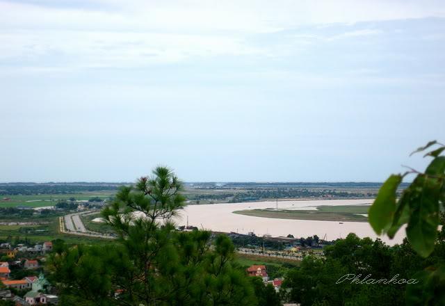 Toàn cảnh khu du lịch Hồ Cửa Nam