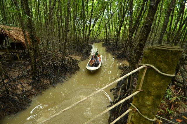 Khu du lịch Rừng Sác - Cần Giờ