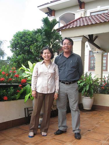 Và đây là chủ nhân của khu du lịch sinh thái này, một doanh nhân thành đạt ở Bình Phước- Bà Phạm Thị Mỹ Lệ
