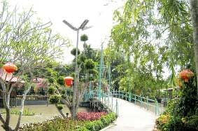 Một cây cầu bắc ngang