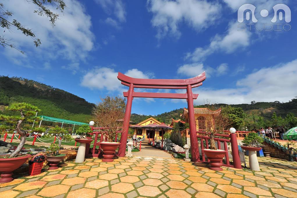 Hình ảnh chụp  bao quát tại Trúc Lâm Viên
