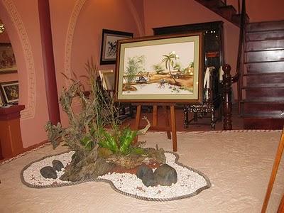 Tiểu cảnh cây kiểng và Thạch Hoa viên