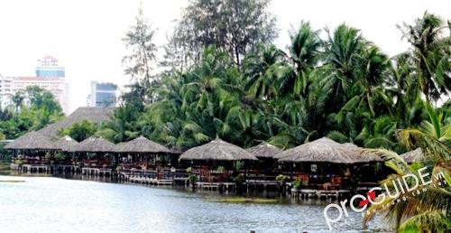 Khu du lịch Văn Thánh xanh mát giữa lòng Sài Gòn