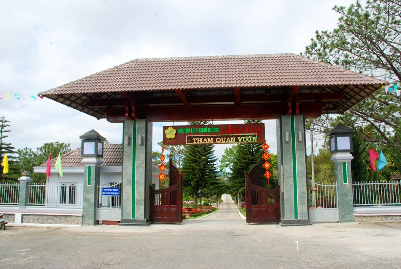 Khu nghỉ dưỡng, vườn hoa Minh Tâm, Đà Lạt