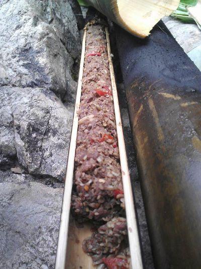 Thịt nướng ống lô
