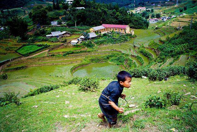 Du lịch bản Cát Cát Sapa của dân tộc H'Mong