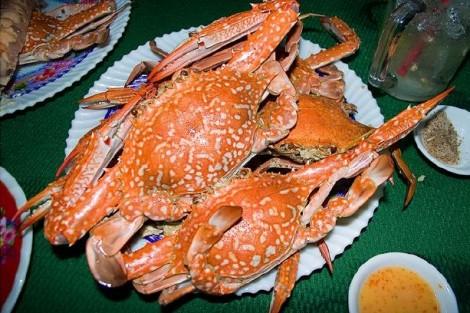 Hình ảnh:Ghẹ Hàm Ninh đặc sản biển thơm ngon