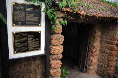 Ngôi nhà của ông Nguyễn Văn Hùng.