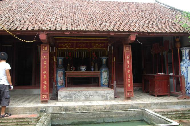 Nhà thờ Thám hoa Giang Văn Minh.
