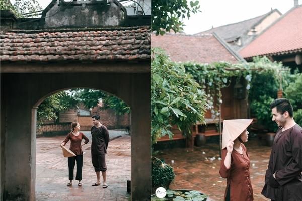 Nhiều đôi chọn khung cảnh nhà cổ cho bộ ảnh cưới của mình