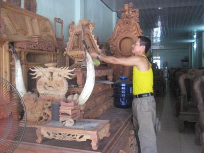 Làng mộc Kha Lâm
