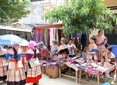 làng Tả Chải thuộc xã Tả Phìn, huyện Sa Pa