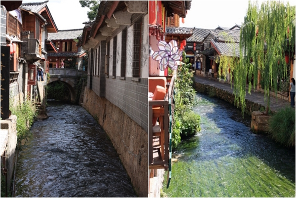 """4. Với kiến trúc cổ kính qua hơn 800 năm lịch sử, đây từng là một mắt xích trong con đường tơ lụa và đô thị cổ này được công nhận là Di sản văn hóa thế giới vào năm 1997. Cái tên Lệ Giang dễ khiến hình dung về một con sông nào đó trong đô thị cổ. Nhưng thực tế chẳng có con sông nào cả, chỉ có một hệ thống kênh (suối nhỏ) chạy quanh và xuyên qua lòng đô thị cổ. Chính vì nổi tiếng về hệ thống đường thủy và cầu cống, Lệ Giang còn được gọi là """"Venezia của phương Đông""""."""