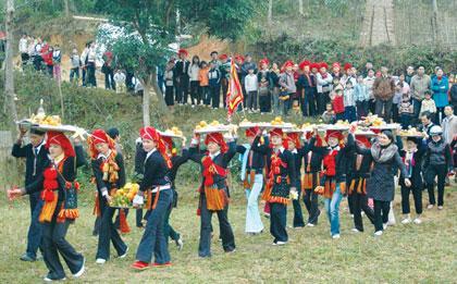 Lễ hội cầu mùa của người Dao