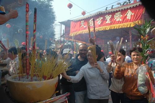 Lễ hội chùa Bà Thiên Hậu