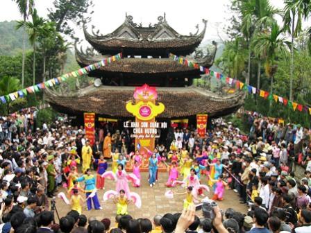 Khai lễ chùa Hương
