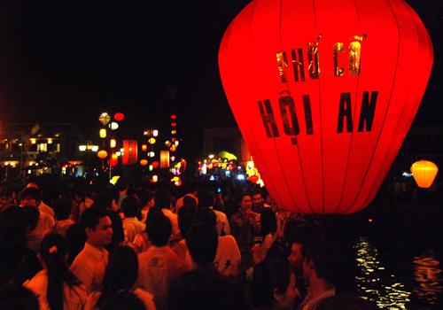 Lễ hội đèn lồng Hội An