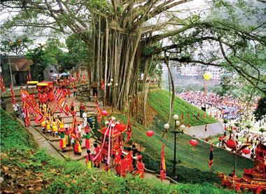 Lễ hội đền Thượng