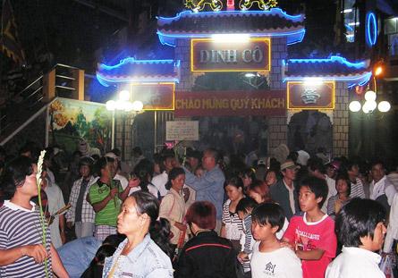Lễ hội Nghinh Cô -  Dinh Cô