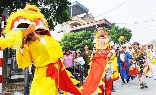 Lễ hội tứ thú Nhân Lương