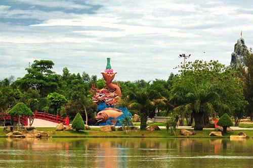 Phong cảnh Long Điền Sơn Tây Ninh