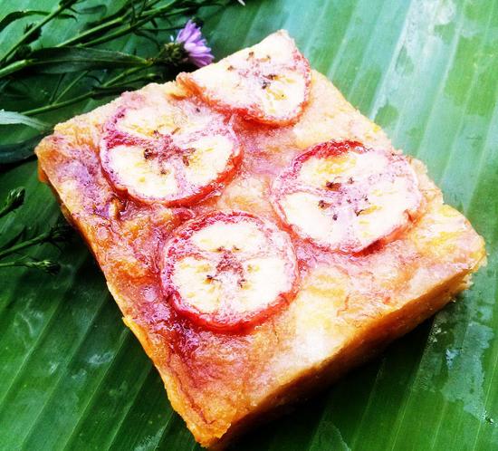 Bánh chuối Yên Lục - Món ngon Mù Căng Chải.