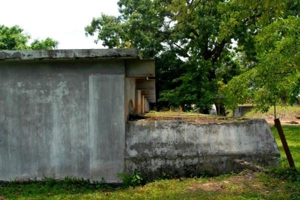 Từ 1964 đến 1975, khu lô cốt này được sử dụng làm kho chứa vũ khí, đạn dược của sư đoàn 25 Ngụy và chi khu Đức Hòa.