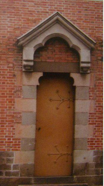 Cửa ra vào của nhà thờ