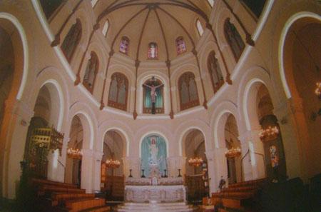 Gian cung thánh của nhà thờ