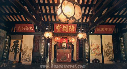 Gian chính nhà thờ cổ tộc Trần – Hội An