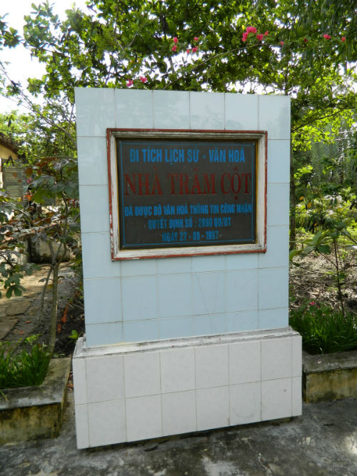 Di tích lịch sử văn hóa Nhà trăm cột được công nhận là Di sản Quốc gia
