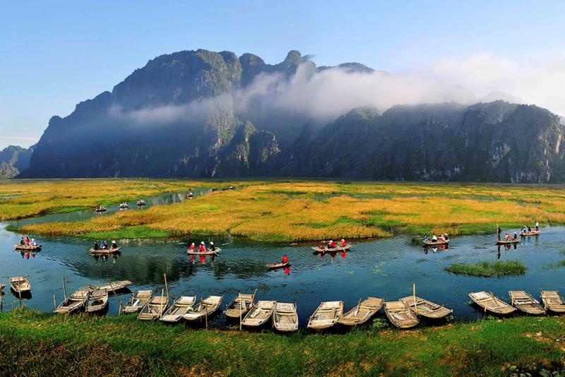 Bến thuyền Khu bảo tồn thiên nhiên Vân Long