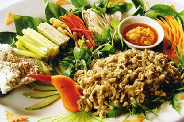 Đặc sản Ninh Bình - Gỏi cá nhệch, Kim Sơn