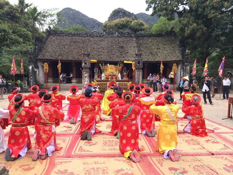 Lễ hội truyền thống Trường Yên ở Ninh Bình