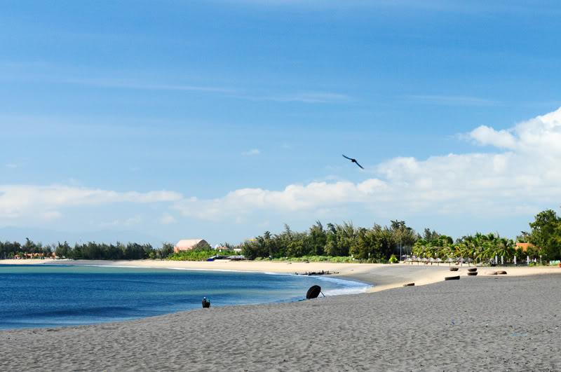 Bãi biển Ninh Chữ.