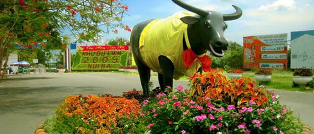 Phong cảnh núi Bà Đen - Tây Ninh