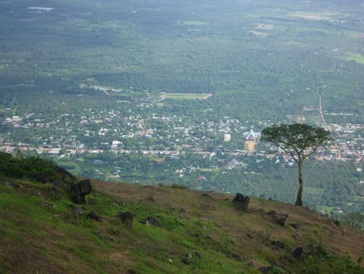 Một góc tỉnh Đồng Nai nhìn từ trên cao